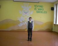 Mokyklinis Tėvynei iš vaiko