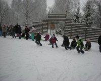 Žiemos estafetės
